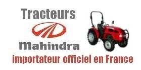 Tracteur Mahindra France